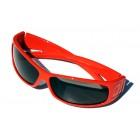 FAÇADE Sunglasses S1-3 Red / Smoke